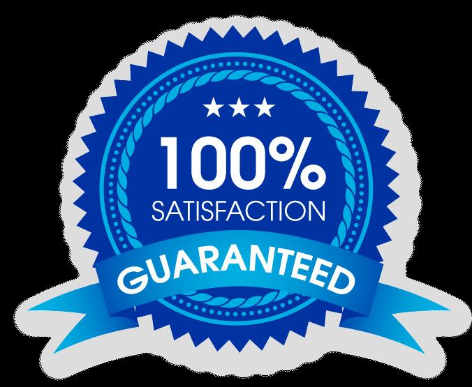 100% Satisfaction - Guaranty1