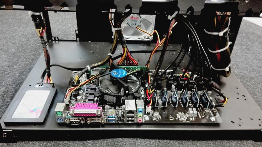 Ethereum GPU Mining Rig 240 MHs - Profi Manufaturing since 2015