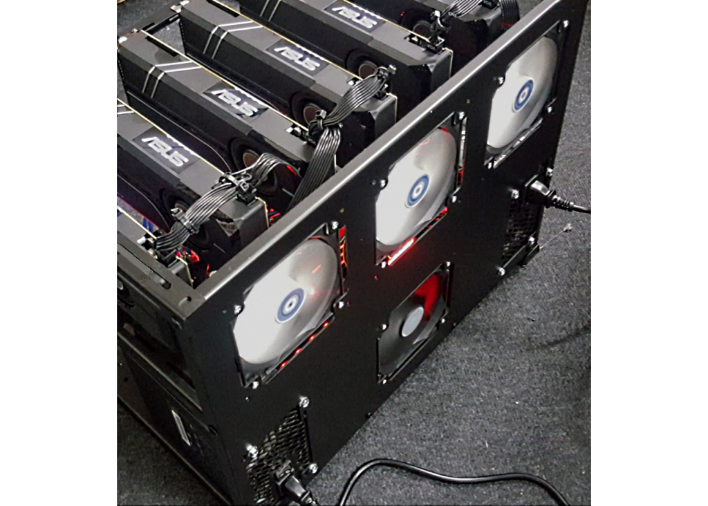 Ethereum Miner - GPU Rig - For Sale - Cryptocurrency Mining