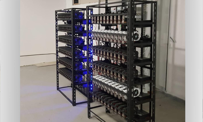GPU Mining RIg - ITCA DIAS Enterprise Rig with 60x GPU card