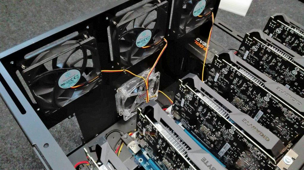 GPU Mining Rig 240 MHs - Ethereum - For Sale