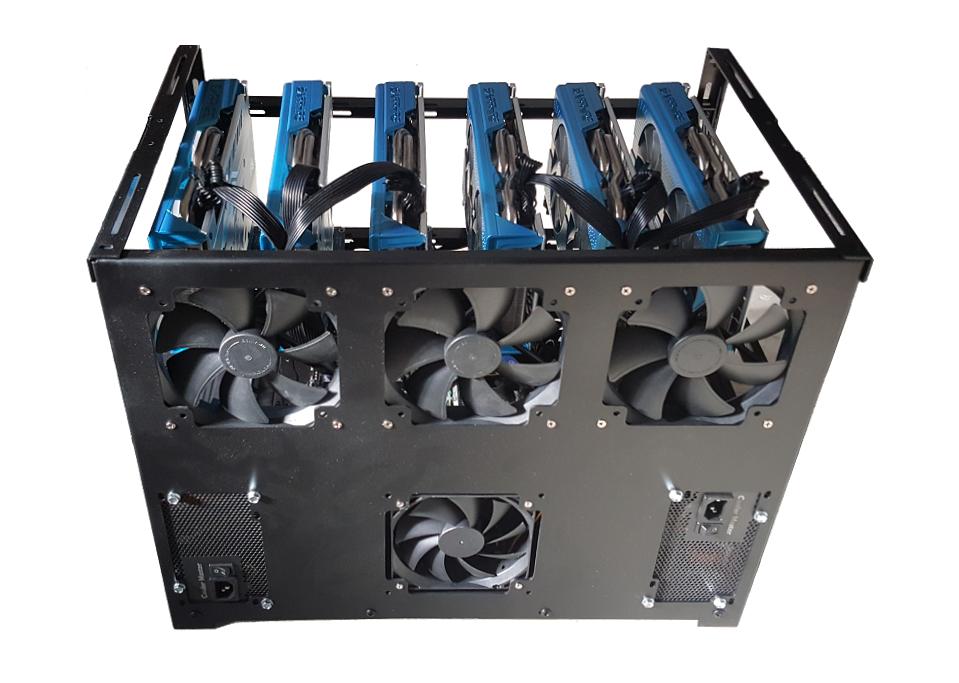 GPU Mining Rig Machine For Sale - Profi Manufacturing from 2015 - Ethereum