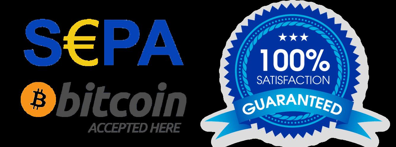 Payment Methods & 100% Satisfaction Garanty - miner-house