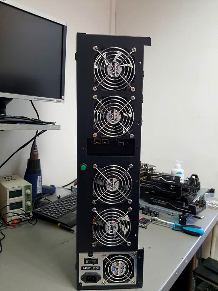 Počítač na ťaženie Bitcoinu - ITCA Poseidon V2-1
